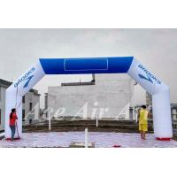 Quality custom advertising inflatable arch hire with removable logo for sale wholesale