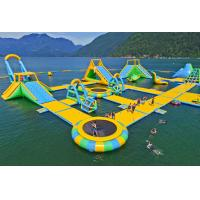 Quality Giant Inflatable Water Park Games /  Harrison Exciting Aqua Park Equipment For Adults or Kids wholesale