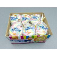 Cheap 11g Marshmallow Lollipop Colorful Shape Taste Sweet and Soft Give You A for sale