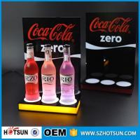 Cheap Shenzhen supplier Free design LED acrylic display for wine acrylic products manufacture for sale