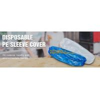 Disposable plastic transparent PE sleeve cover LDPE/HDPE oversleeve,PE disposable hospital surgical camera cover sleeve