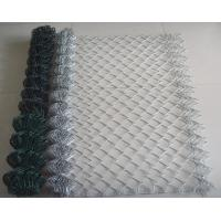 Cheap Widely Used Chain Link Wire Mesh/Fence With Galvanized Steel Wire and PVC Coated for sale