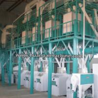 China 20t 30t 50t 100t 200t 500t per 24hr Maize milling machine for Ugali ,Fufu in Africa on sale