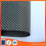 Quality Outdoor Fabrics - Sunbrella outdoor chair fabric in Textilene mesh fabricin black color wholesale