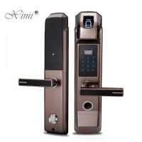 Quality RFID Fingerprint Front Door Lock , Smart Door Lock Fingerprint 100 Capacity wholesale