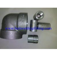 Quality Steel Forged Fittings ASTM A694 F80 , Elbow , Tee , Reducer ,SW, 3000LB,6000LB  ANSI B16.11 wholesale