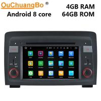 China Ouchuangbo auto stereo radio gps for Fiat Idea(2003-2007) With USB WIFI 1080 video 9.0 system on sale