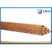 China Bare Copper Conductor Stranded for overhead transmission line conductor on sale
