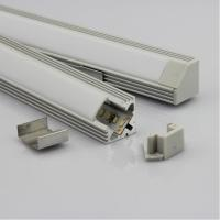 Cheap OEM 30w Extrusion Aluminium LED Profiles Heatsink Cooling For Led Strip / Light for sale