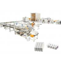 China Automatic Facial Tissue Paper Production Line  Plastic Bag And Box Drawing  on sale