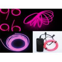 China 100~150cd.m2 Polar Light 3 Glow EL Wire Purple For Children Placing , Home on sale
