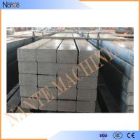 Quality Hot Rolled Leaf Steel Crane Rail Flat With Smooth Surface Treatment And Cutting wholesale