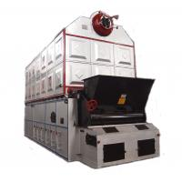 Cheap Dual Rear Drum Vertical Spiral Coal Fired Steam Boiler Heating System for sale