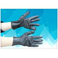 China Durable Disposable Medical Gloves Oil Resistance Thickness 0.34mm Strong Versatility on sale