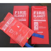 Quality Insulated Fireproof Fiberglass Fire Blanket Safety Emergency Fire Blanket wholesale