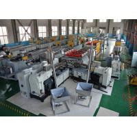 Quality PLC Control Wpc Board Production Line Hard Surface Board Extruder Easy Operation wholesale