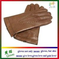 Quality Mens genuine leather gloves wholesale
