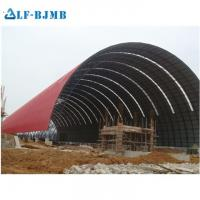 Quality Prefab Steel Space Frame Structure Coal/Cement/Limestone/Clinker/Grain Storage Sheds Structure wholesale