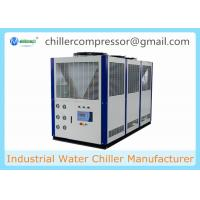 Quality Low Temperature -15C Temp 10 tons 36kw Air Cooled Glycol Chiller wholesale