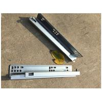 Quality Sgs Test Concealed Soft Close Ball Bearing Drawer Slides Zinc Plated Ce Certificate wholesale