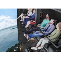 Quality Indoor Flight Simulation Flying Theater With U-Screen Motion Chair wholesale