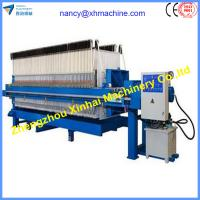 Quality China popular factory Chamber filter press for coal wholesale