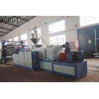 China PVC Sheet Coperion Conical Twin Screw Extruders Co Rotating For Imitation Jade PVC on sale