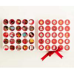 China Luxury Custom Design Advent Calendar Box Christmas Drawer Box for sale