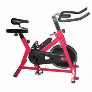 Quality Spinning upright exercise bike, smooth and silent belt transmission wholesale