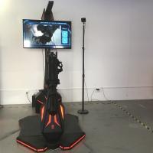 China Gatling Virtual Reality Shooting Simulator / VR Fighting Machine Zombie Multiplayer Games on sale