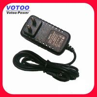Quality Black Light AC DC Power Adapter 12v 0.5a / 1a / 1.5a With Fingerprint Time Attendance wholesale