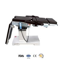 Cheap Double Control Hydraulic Surgical Electric Operating Table Adjustable For Operating Room for sale