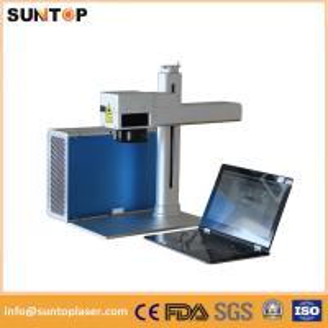 Quality 1064nm portable fiber laser marking machine brass laser drilling machine wholesale