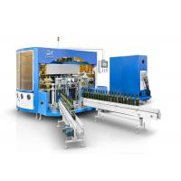 Quality Wine Glass Bottle  Automatic Multi Color Screen Printing Machine With LED UV Curing Device wholesale