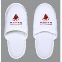 Quality Promotional Guest bedroom White Restaurant, Spa and Hotel Slipper for Men wholesale