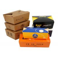 Quality Fast Food Carrier Packaging Eco Friendly Paper Cups / Restaurant Take Out Boxes wholesale