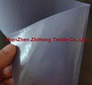 China Heat Pressing Blanching Adhesive / practical industrial sticky hook loop fastener on sale