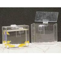Quality Custom Acrylic Fish Tank , Rectangle Plexiglass Fish Tank With Lid wholesale