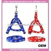 Quality Pet Products Nylon Dog Leash Adjustable With Harness wholesale