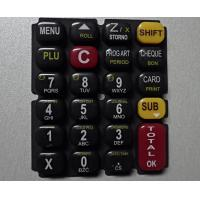 Quality Glossy Oil 3 Color Printing Silicone Rubber Mold For Keypad wholesale
