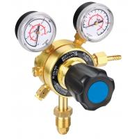 Quality High Flow Stability Compressed Gas Pressure Regulator , Dual Stage Gas Pressure Regulator wholesale