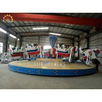 Quality Family Crazy Dance Ride 13m * 13m Space Size , Breakdance Amusement Ride wholesale