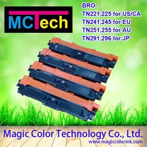 Quality Brother TN 221 TN241 TN251 TN281 T291 color printer toner cartridge wholesale