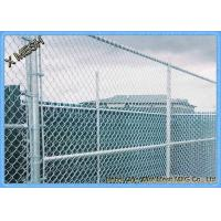 Quality 9 Gauge Aluminum Coated Steel Chain Link Fence Privacy Fabric for Commercial residential wholesale