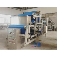 Cheap Belt Type Industrial Juicer Machine / Fruit Juice Making Machine 10-20t/H Capacity for sale
