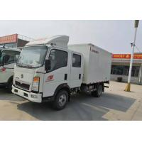 Quality Diesel Cargo Light Duty Commercial Trucks , Light Duty Box Trucks 20 Cbm wholesale