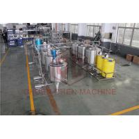 Quality Pure Water Purification And Bottling Equipment Single Layer Sugar Mixing / Melting Tank wholesale