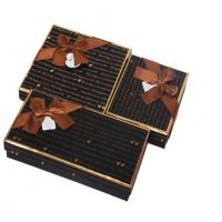 China Clear Windows Chocolate Packaging Boxes , Special Cake Gift Box on sale