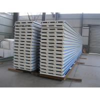Quality PU Insulation Sandwich Panel 950mm , Corrugated Steel Roof Panel wholesale