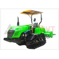 Quality Small Triangle Crawler Farm Tractor Agriculture Farm Equipment HST AUTO Control wholesale